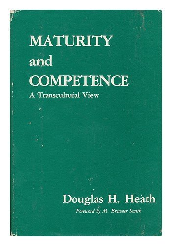 9780470990728: Maturity and Competence: A Transcultural View