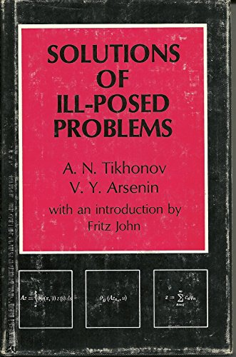 9780470991244: Solutions of Ill-posed Problems (Scripta series in mathematics)
