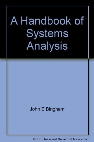 9780470991299: A handbook of systems analysis