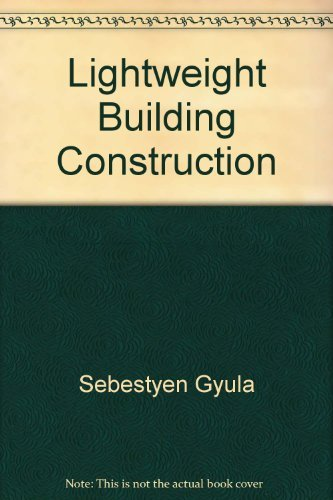 Lightweight building construction.