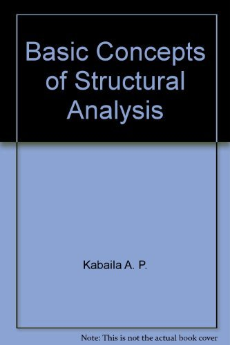 9780470992135: Basic concepts of structural analysis