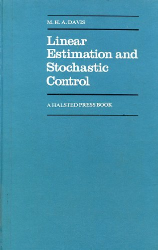 9780470992159: Linear Estimation and Stochastic Control (Chapman and Hall Mathematics Series)
