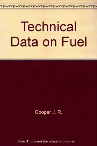 9780470992395: Technical Data on Fuel