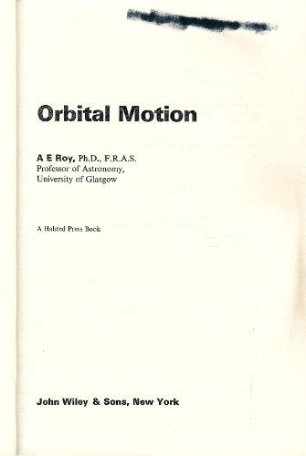 9780470992517: Orbital Motion
