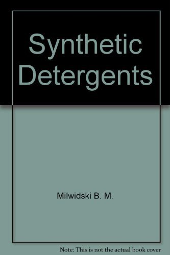 9780470993125: Synthetic detergents
