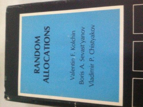 9780470993941: Random Allocations (Scripta series in mathematics)