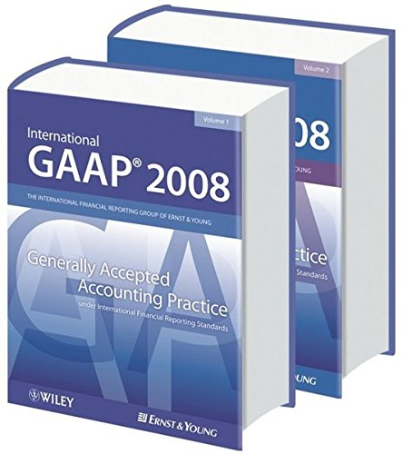 9780470996140: International GAAP 2008: Generally Accepted Accounting Practice under International Financial Reporting Standards