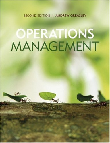 9780470997611: Operations Management
