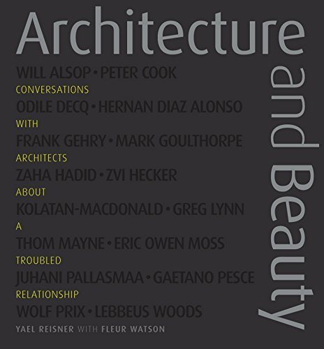 9780470997840: Architecture and Beauty: Conversations with Architects about a Troubled Relationship