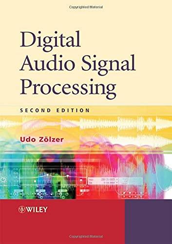 9780470997857: Digital Audio Signal Processing