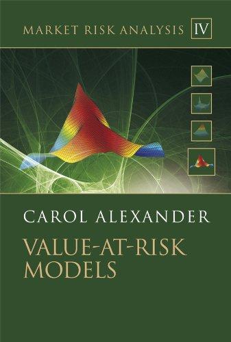 9780470997888: Market Risk Analysis, Value at Risk Models (Volume IV)