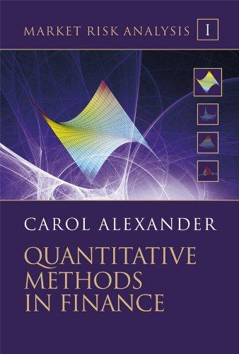 9780470998007: Quantitative Methods in Finance