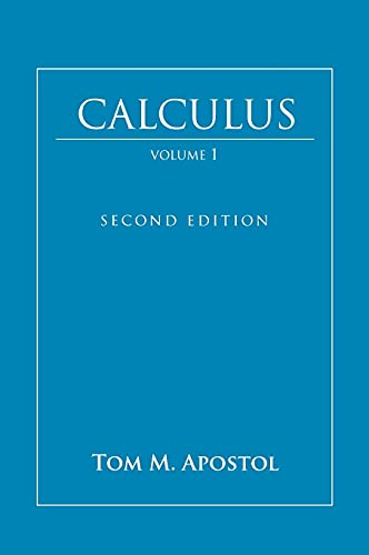 9780471000051: Calculus, Vol. 1: One-Variable Calculus, with an Introduction to Linear Algebra
