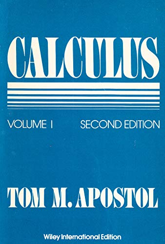 9780471000068: Calculus: One-variable Calculus, with an Introduction to Linear Algebra v. 1