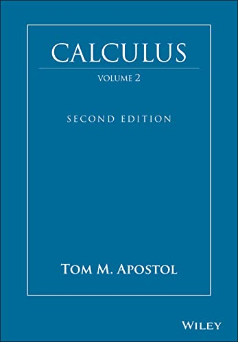 9780471000075: Calculus, Vol. 2: Multi-Variable Calculus and Linear Algebra with Applications to Differential Equations and Probability