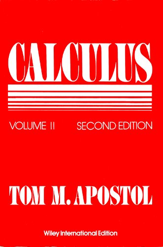 9780471000082: Calculus, Volume 2: Multi-variable Calculus and Linear Algebra, with Applications to Differential Equations and Probability v. 2