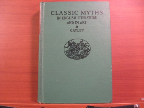 9780471001911: Classical Myths in English Literature and in Art