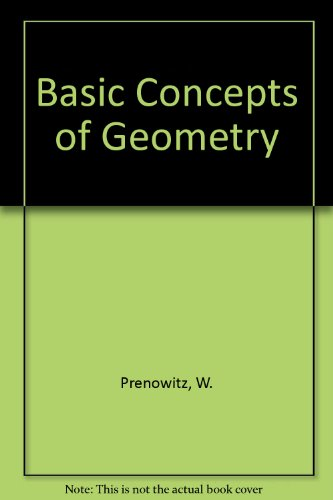 9780471004516: Basic Concepts of Geometry