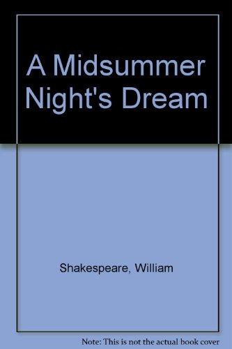 9780471005230: A Midsummer Night's Dream