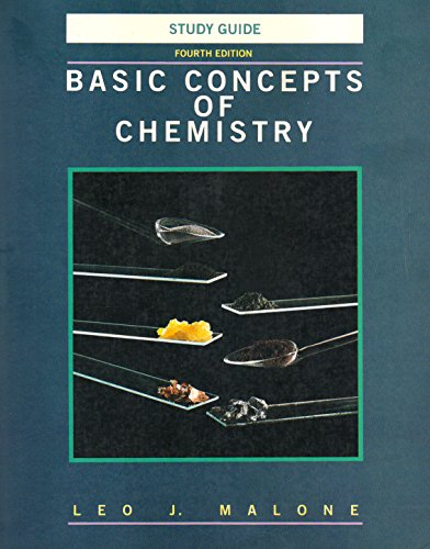 9780471006817: Basic Concepts of Chemistry, Study Guide