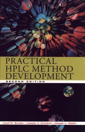 9780471007036: Practical Hplc Method Development