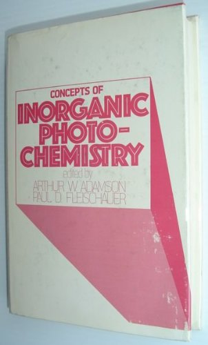 9780471007951: Concepts of Inorganic Photochemistry