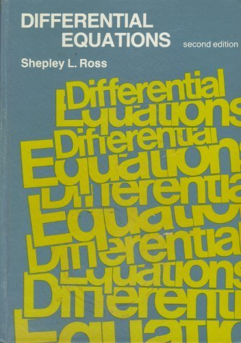 9780471009306: Differential Equations Edition (New Dimensions in History)