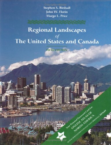 9780471009986: Regional Landscapes of the United States and Canada (Wiley Series in Advanced Regional Geography)