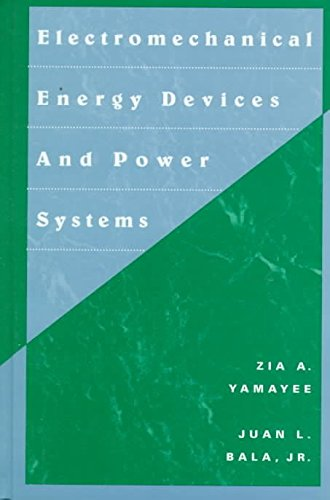 9780471010197: Electromechanical Energy Devices and Power Systems