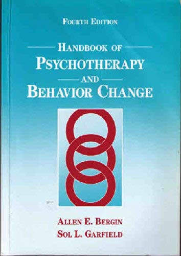 9780471010234: Handbook of Psychotherapy and Behavior Change