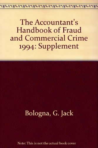 9780471010326: The Accountant's Handbook of Fraud and Commercial Crime 1994: Supplement