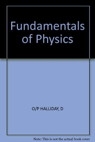 9780471011521: Halliday: Fundamentals of Physics 2ed Extended Version Revised Printing