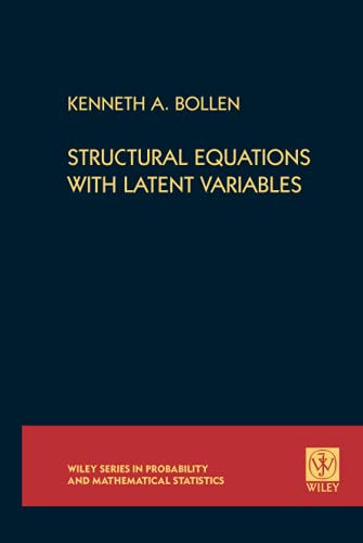 9780471011712: Structural Equations with Latent Variables
