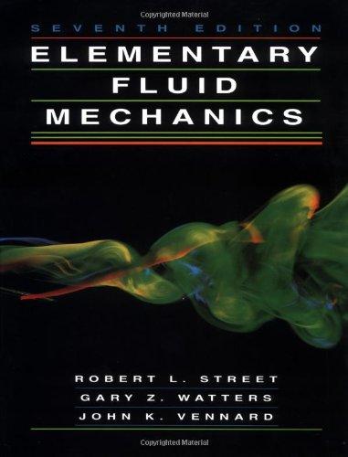 9780471013105: Elementary Fluid Mechanics