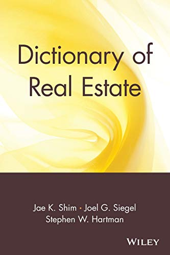 9780471013358: Dictionary of Real Estate