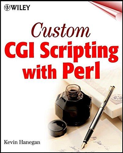 9780471013792: Custom Cgi Scripting with Perl