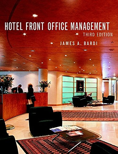 9780471013969: Hotel Front Office Management