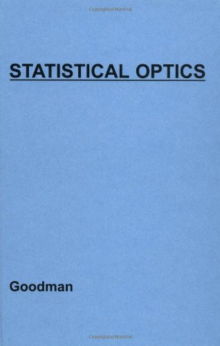 9780471015024: Statistical Optics (Wiley Series in Pure and Applied Optics)