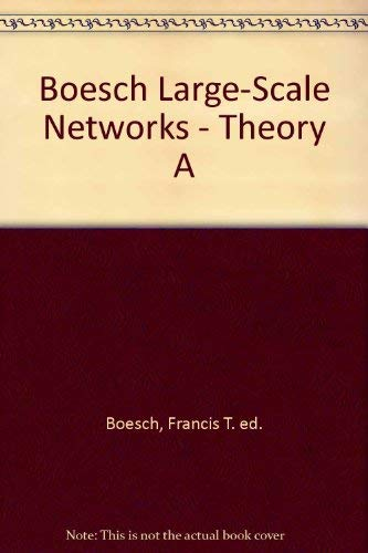 9780471016168: Large-Scale Networks: Theory and Design.