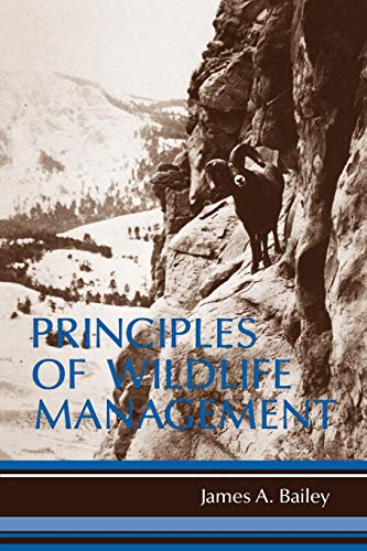 9780471016496: Principles of Wildlife Management