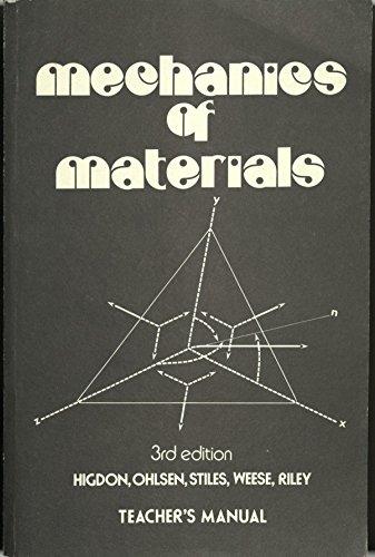 Mechanics of Materials: Archie Higdon; Edward