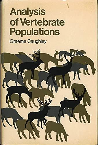 9780471017059: Analysis of Vertebrate Populations