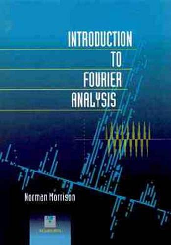 9780471017370: Introduction to Fourier Analysis/Book and 2 Disks