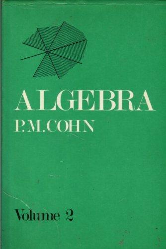 9780471018230: Algebra. Volume 2 (v. 2)