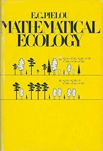 9780471019930: Mathematical Ecology