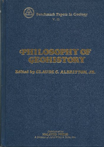 9780471020523: Philosophy of Geohistory, 1785-1970 (Benchmark papers in geology, v. 13)