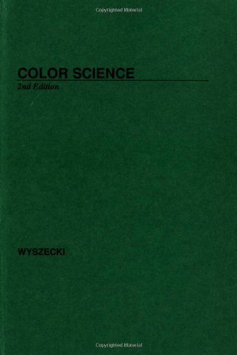 9780471021063: Color Science: Concepts and Methods, Quantitative Data and Formulae (The Wiley Series in Pure and Applied Optics)