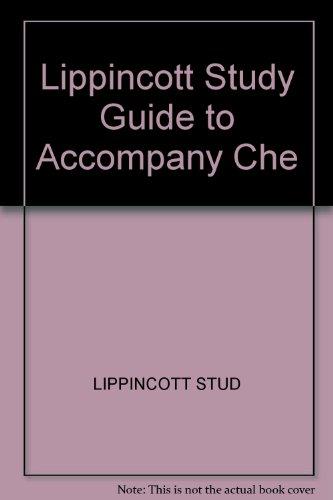 9780471022213: Lippincott Study Guide to Accompany Che
