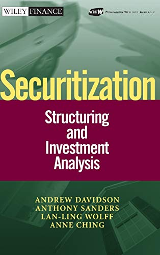 9780471022602: Securitization: Structuring and Investment Analysis
