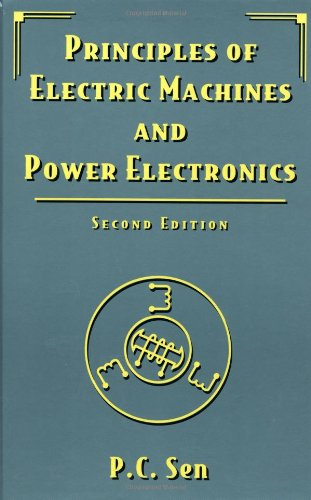 9780471022954: Principles of Electric Machines and Power Electronics, Second Edition